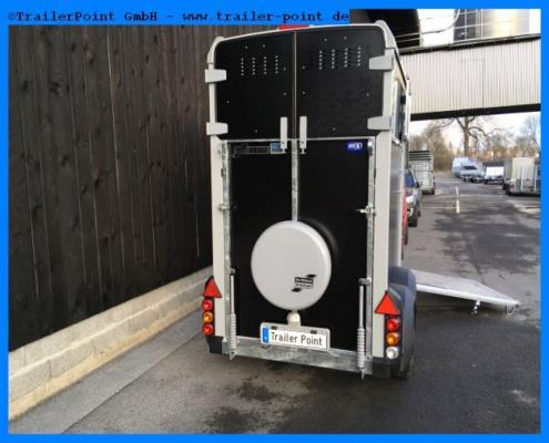 Ifor Williams - HB403 Schwarz - Lagerfahrzeug