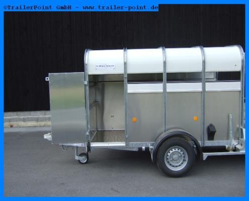 Ifor Williams - P8G 250x124x153 - Bestellfahrzeug im Vorlauf