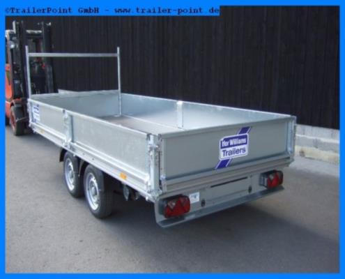 Ifor Williams - EX202-3615 Pritsche 368x158 - Bestellfahrzeug