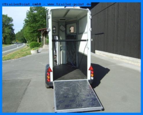 Ifor Williams - HB403 Silber - Bestellfahrzeug im Vorlauf