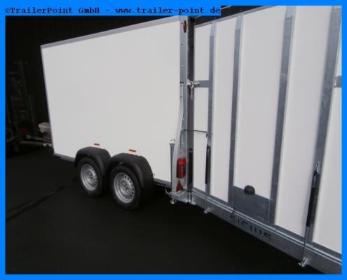 Sirius - KARGO G305 Rampe+Tuer 300x171x190cm - Lagerfahrzeug