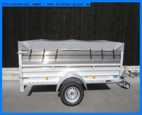 Koch - U4 125x250 - 750kg- ungebremst - Lagerfahrzeug
