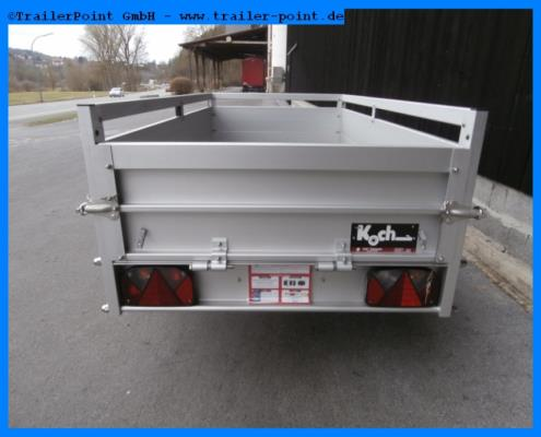 Koch - U2-105x205 - 750 kg - ungebremst  - Lagerfahrzeug