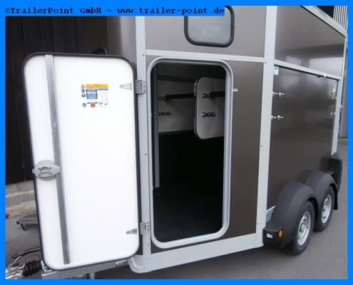 Ifor Williams - HB506 Frontrampe - Lagerfahrzeug