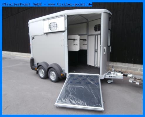 Ifor Williams - HB511 Rampe-Türen  - Lagerfahrzeug