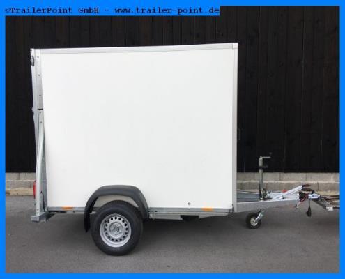 Sirius - KARGO G255 Rampe+Tuer 250x141x190 - Lagerfahrzeug