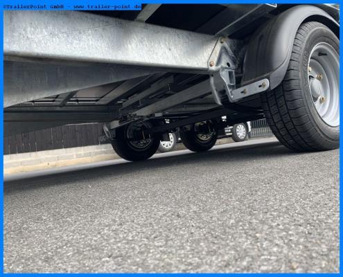 Ifor Williams - LM126G  - Lagerfahrzeug