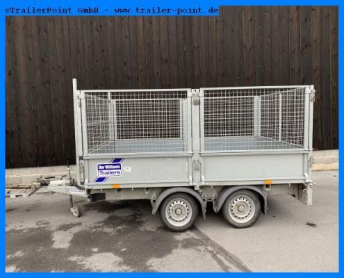 Ifor Williams - LT106 300x198 2t. - Gitteraufsatz