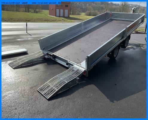 Ifor Williams - TB4621 352 Kippbare Ladefläche - Bestellfahrzeug